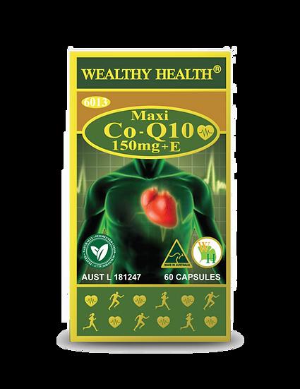 Maxi CoQ10 150mg + E Heart Health Tablets