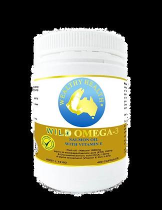 Wild Omega - 3 Salmon Oil Capsules