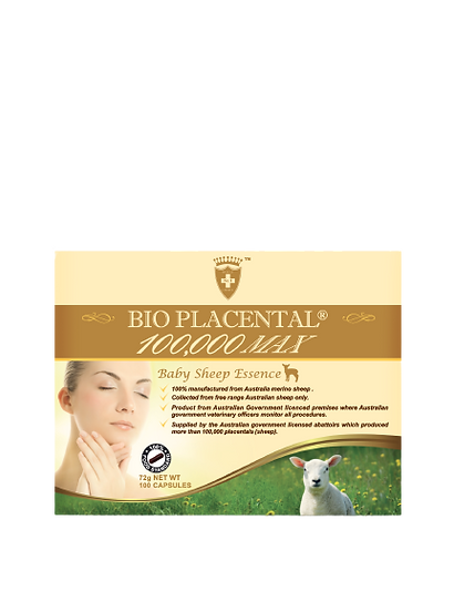 Bio Placental 100,000 Baby Sheep Essence Tablets