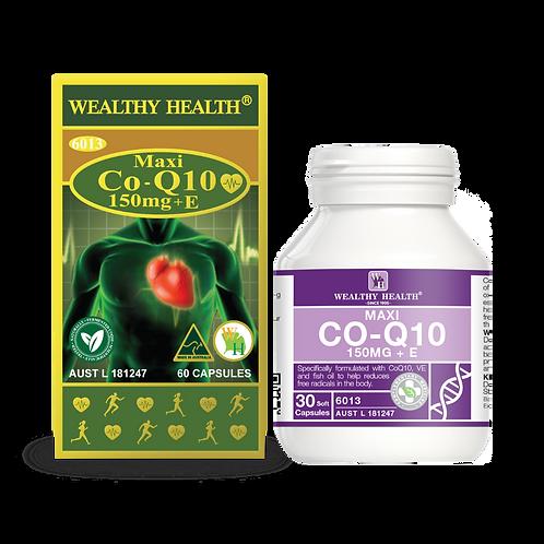 Maxi CoQ10 150mg + E Heart Health Capsules