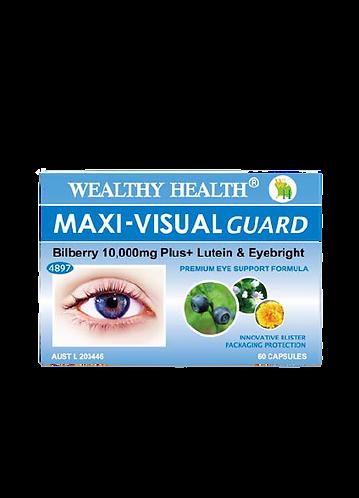 Maxi-Visual Guard Bilberry 10000 Plus Eye Health Capsules