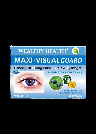 Maxi-Visual Guard Bilberry 10000 Plus Eye Health Tablets