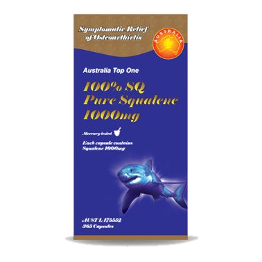 100% SQ Pure Squalene 1000mg