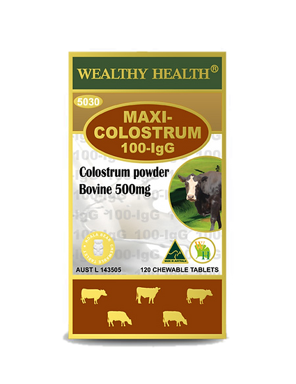 Maxi Colostrum 100-IgG Chewable Tablets