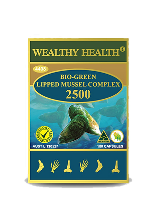 New Zealand Bio-Green Lipped Mussel Complex Capsules 2500