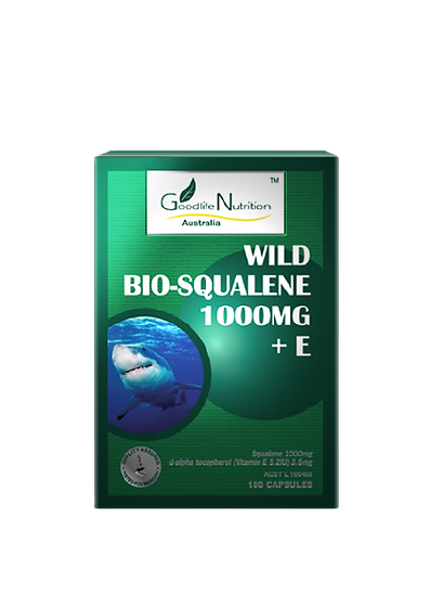 Wild Bio-Squalene 1000mg + E