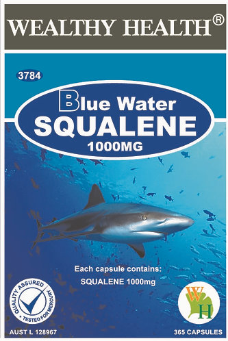 Blue Water Wealthy Health Squalene 1000mg