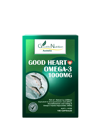 Good Heart Omega-3 1000mg