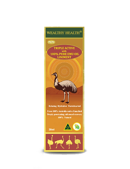 Triple ACTIVE with 100% Pure EMU OIL Liniment