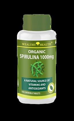Organic Spirulina 1000mg