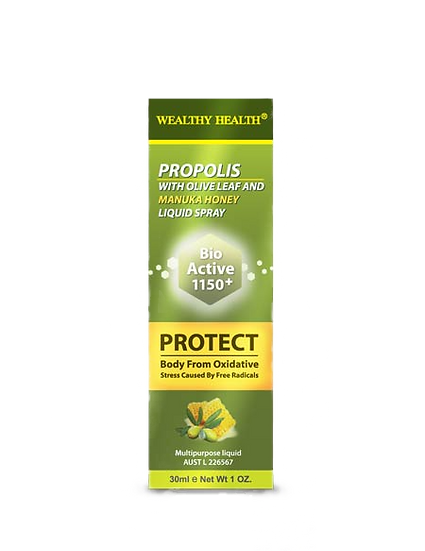 Propolis With Olive Leaf And Manuka Honey Liquid Spray