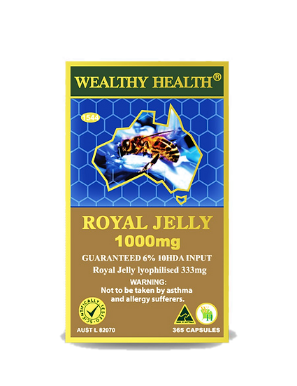 Royal Jelly Capsules 1000
