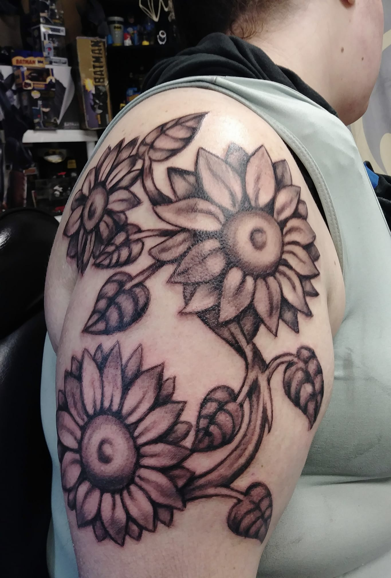 Freehand flowers