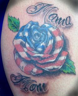 Flag rose