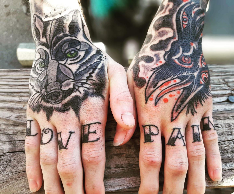 Hand Tats
