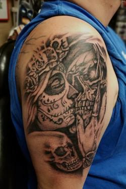 DOD and skull