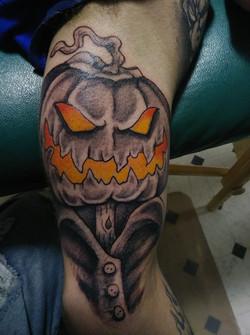 freehand pumpkin