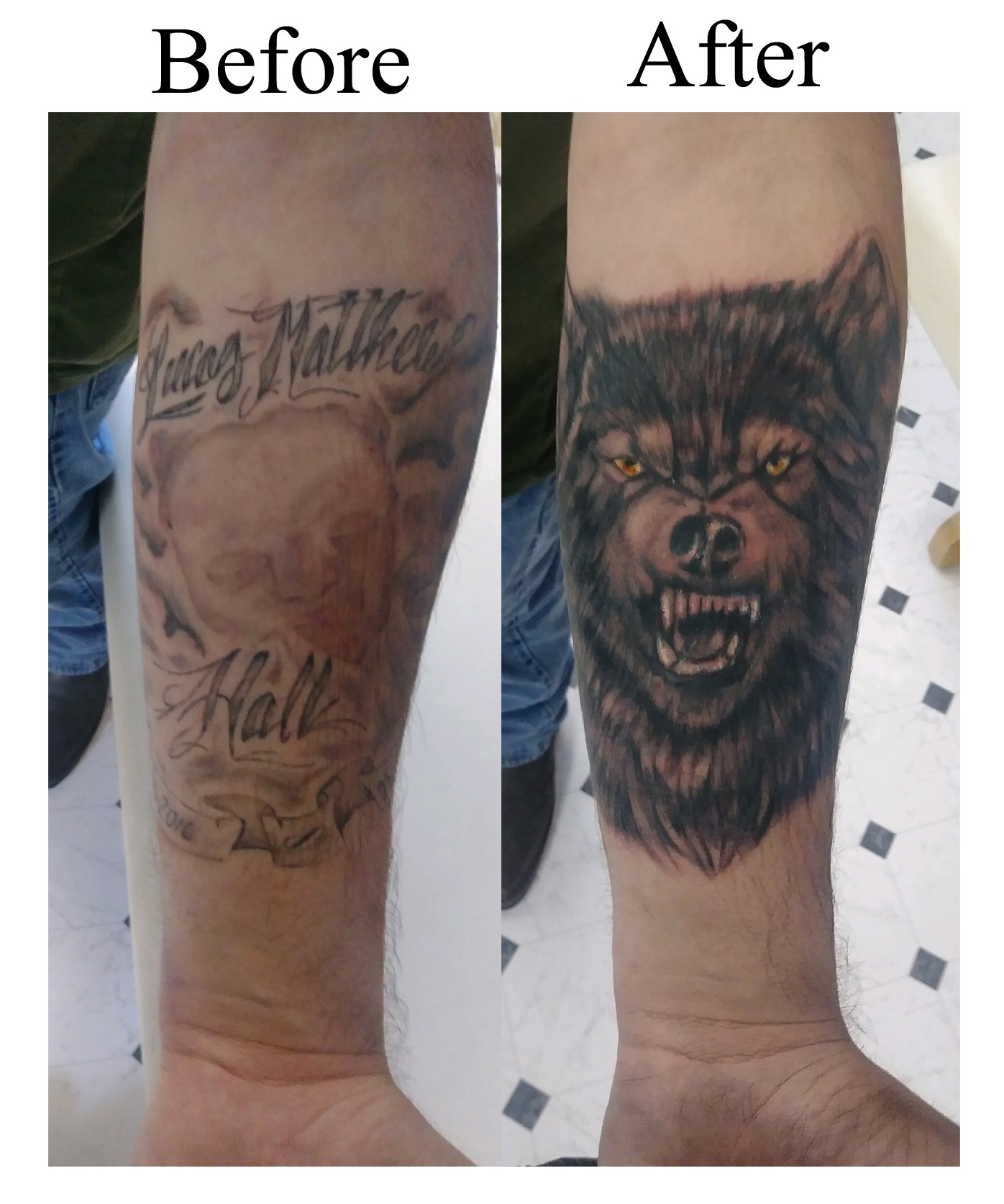 Wolf Coverup