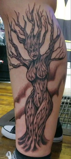 Freehand Mother Tree