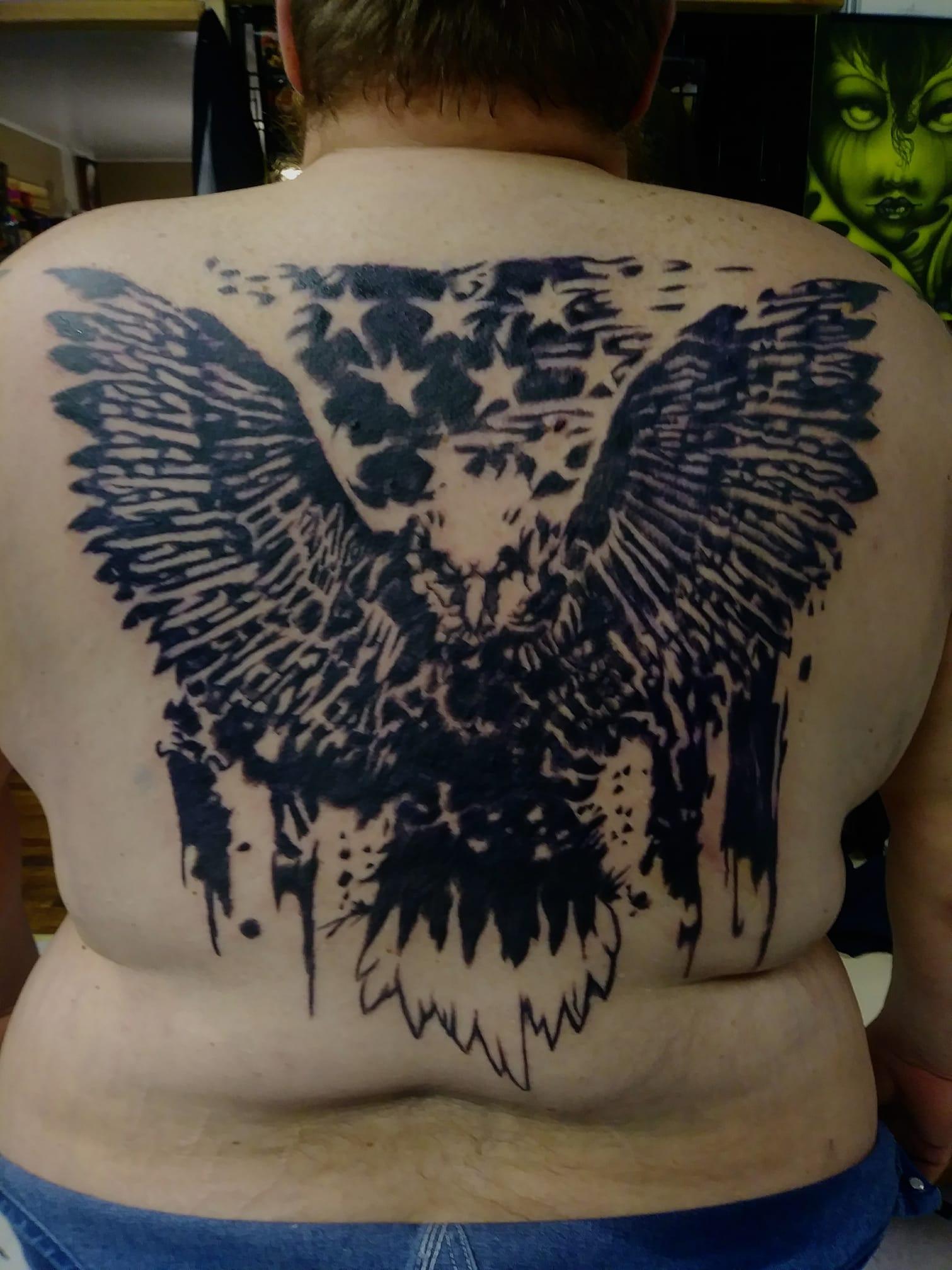 America back piece