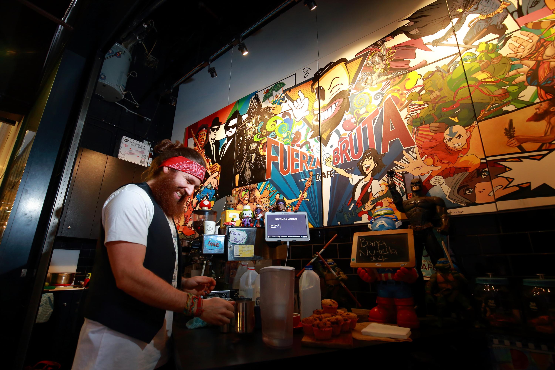 Cafe Fuerza Bruta