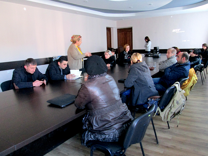 Training for regional Tetritskaro  municipality representatives