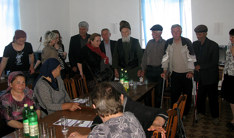 Meeting with Elderly Council in Pankisi 2011