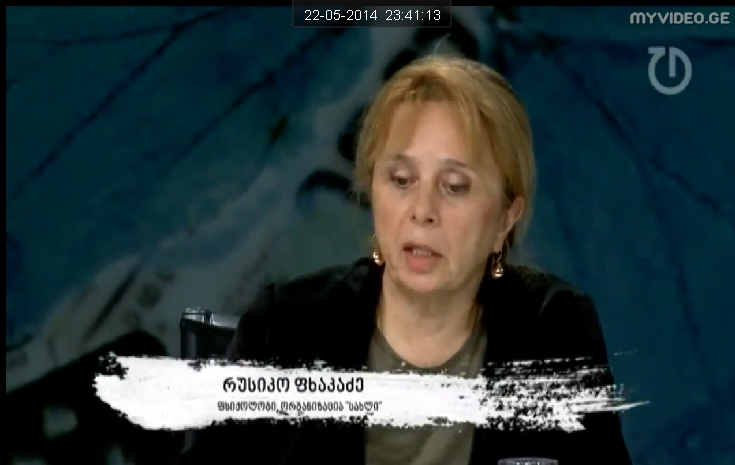 TV Channel TABULA- program on domestic violence 2014
