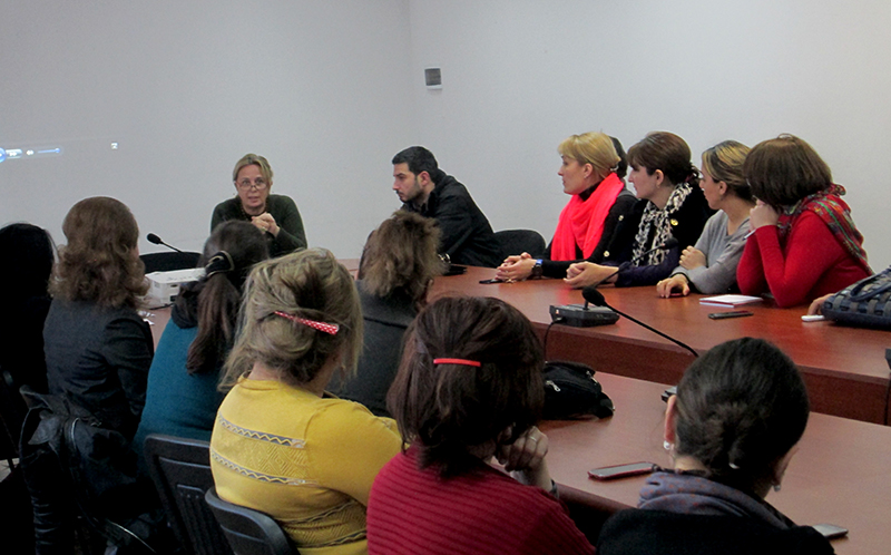 Meeting at Marneuli Municipality 2015