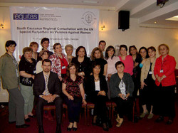 Meeting with UN Special Reporter in Tbilisi 2012