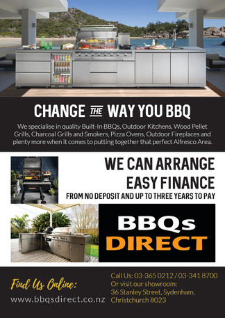 TMFNZ Finance A4 Flyer for BBQs Direct