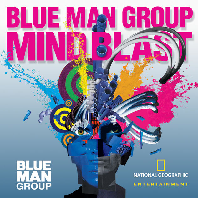 Blue Man Group Key Art