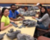 UTA Students Making Plarn.jpg