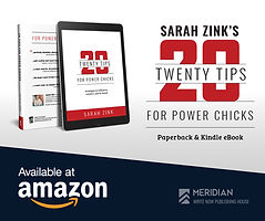 Sarah Zink 20 Tips for Power Chicks