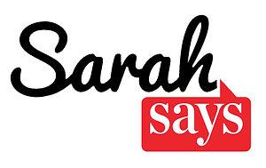 SarahSaysLogo #4.jpg