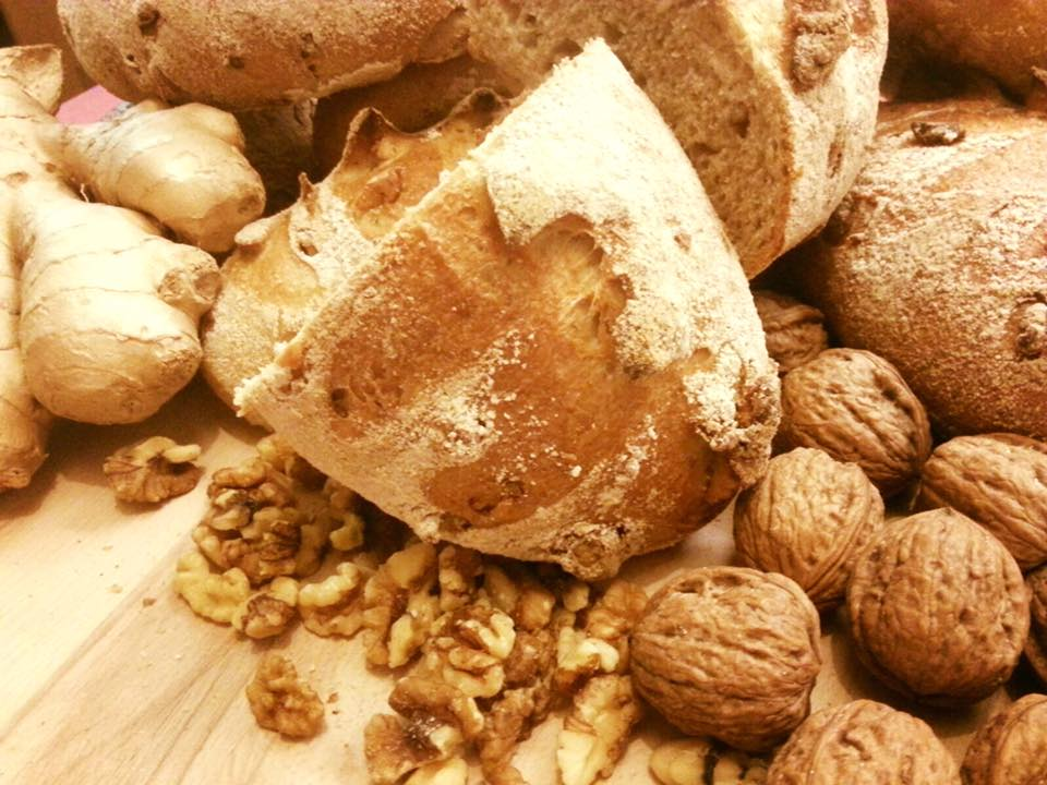 Walnuss-Ingwer-Brot