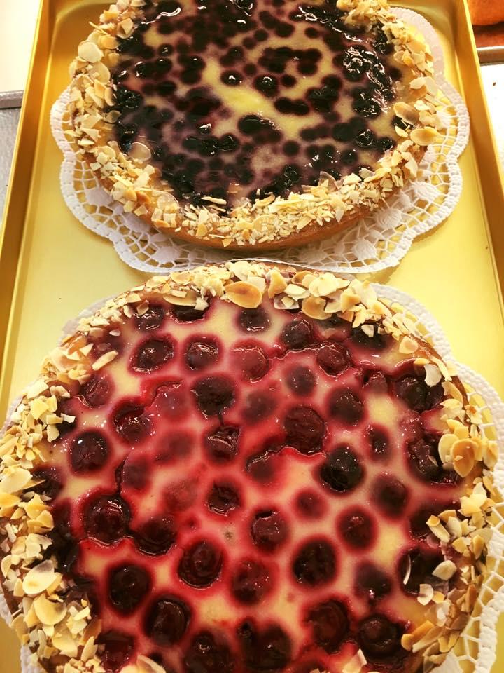 kleine Frucht-Schmand-Kuchen