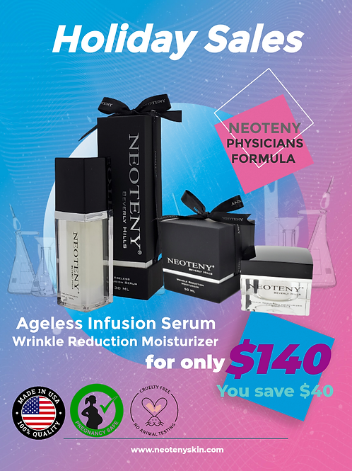Ageless +  Wrinkle Reduction
