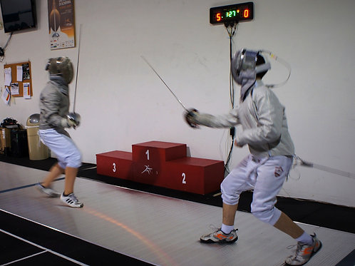 Week 1 TRAINING FENCING CAMP