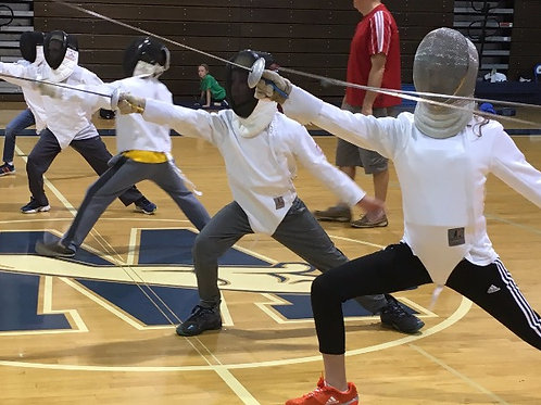 Week 2- TRAINING FENCING CAMP