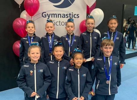 Level 3 Girls at Vic Champs