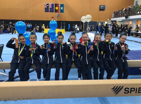 Level 2 Girls Dominate at BTYC Comp