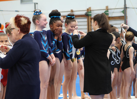PIT Girls Shine at Balance and EKGA Invitationals