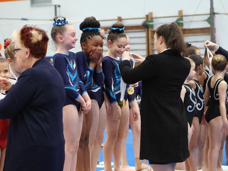 PIT Girls Shine at Balance and EKGA Invitationals