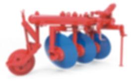 arado reversible, maquinaria agrícola usada