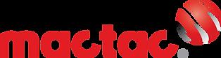 logotipo con un globo y texto mactac