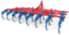 chisel tipo reforzado 3 hileras con rodillo helicoidal