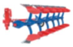 arado reversible sistema por muelle