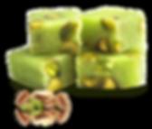 turrón de pistachos nougat