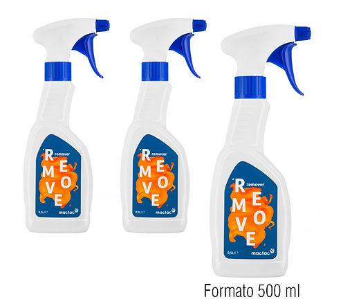 """envases producto """"Remove"""" 500 ml de plástico con pulverizador"""